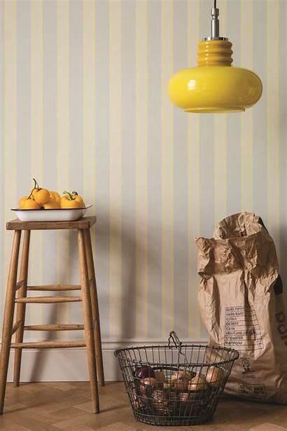 Farrow Ball Striped Yellow