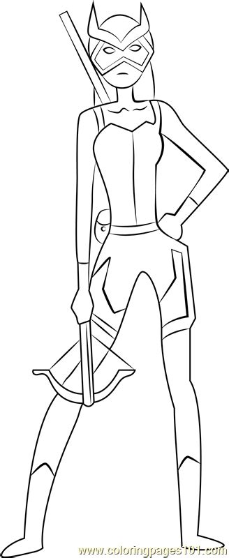 tigress coloring page  young justice coloring pages