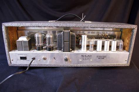 Vintage Silvertone 1484 Twin Twelve Tube Guitar Amp