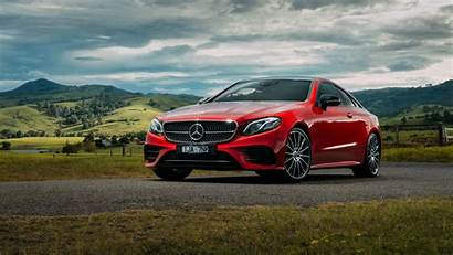 Mercedes Benz Class Background Nature 4k Coupe