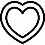 Heart Inside Svg Icon Vector Christmas Vectors