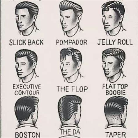 Names Of Boy Hairstyles by 50s Salon Names The Look Of The 50 S Is Back In The 21st