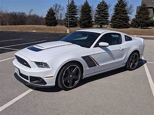 5th gen white 2014 Ford Mustang Roush Stage 3 V8 For Sale - MustangCarPlace