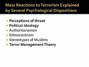 474 2015 terrorism political psychology
