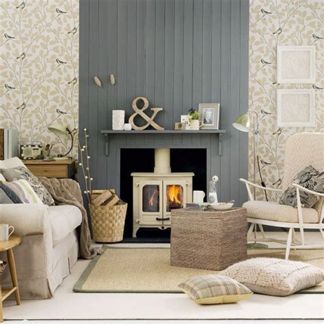 Country Living Room Ideas With Fireplace by 69 Fabulous Gray Living Room Designs To Inspire You