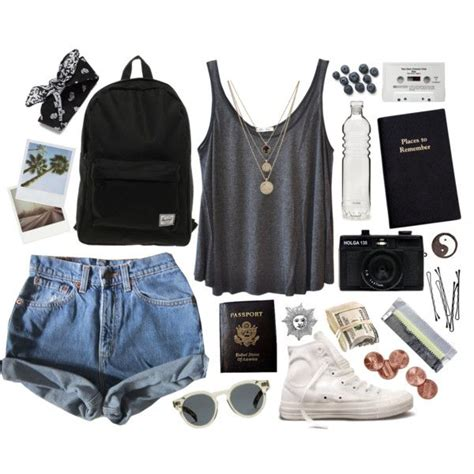 Road Trip Essentialsu201320 Best Outfits For Traveling in Summers
