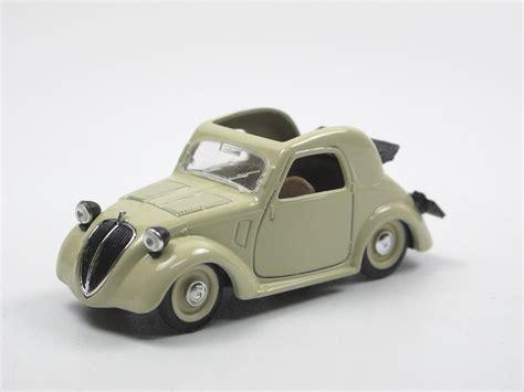 Brumm 1936 Fiat 500 A Topolino Beige 143 Aus