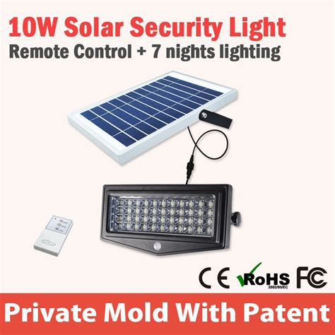 led emergency light with remote solar outdoor