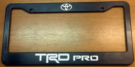 fs trd license plate frames tacoma world