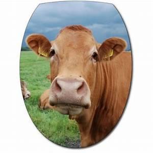 Tete De Vache Deco : sticker abattant wc t te de vache ~ Melissatoandfro.com Idées de Décoration