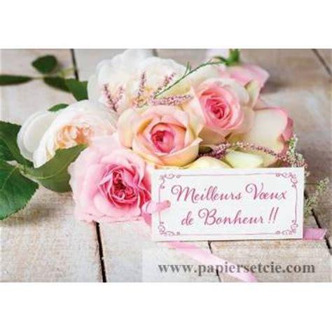 carte de voeux pour mariage voeux carte mariage