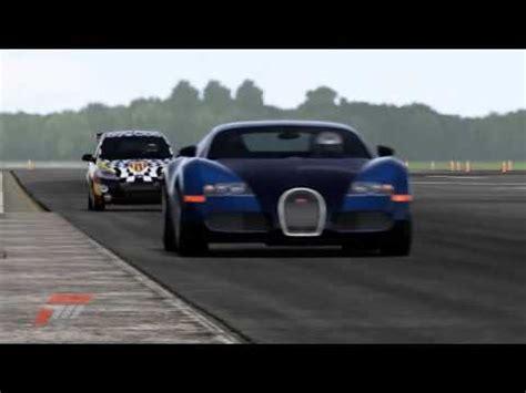 Bugatti Test Track by Forza 4 Ford Ka 2011 Vs Bugatti Veyron 16 4 2009
