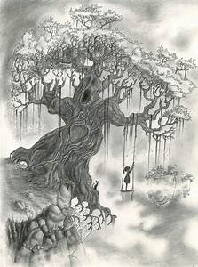 10+ Beautiful Tree Drawings for Inspiration 2017