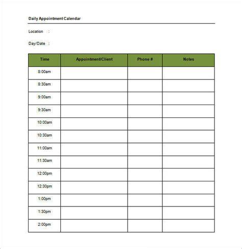 schedule templates   word excel