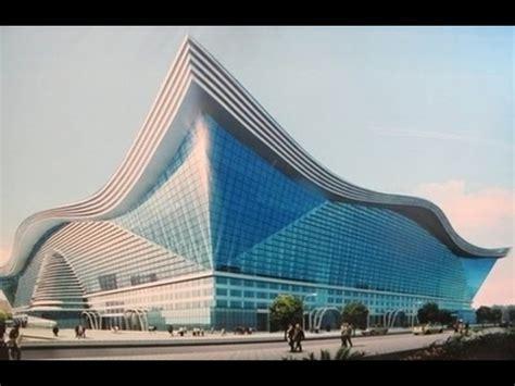 largest building   world  century global center  chengdu china youtube