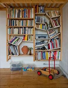 Etagere Murale Livre : l 39 tag re murale design 82 id es originales ~ Teatrodelosmanantiales.com Idées de Décoration