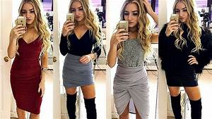 NIGHT OUT OUTFIT IDEAS 2018 - YouTube