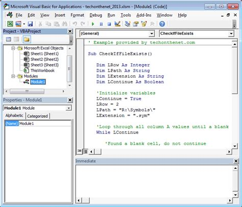 ms excel 2013 vba environment introduction