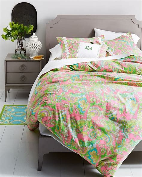 Lilly Pulitzer Bed Spread by Lilly Pulitzer Chin Chin Sparkle Pink Bedroom