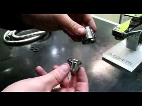 aeratore rubinetto aeratore america installare doccetta su rubinetto