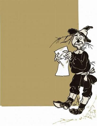 Oz Wizard Scarecrow Wonderful Denslow Frank Juvenile