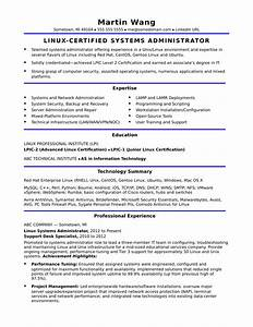 sample resume for a midlevel systems administrator With how to format resume for candidate management systems