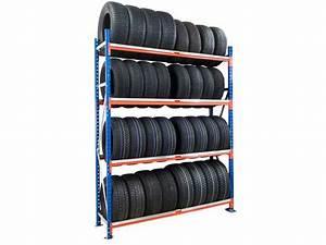 Rack A Pneu : rack pneus 4 niveaux hauteur 2m50 de setam rayonnage et ~ Dallasstarsshop.com Idées de Décoration