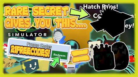 codes secret swarm bee hidden roblox simulator locations robux game list panda rainbow jelly 2x