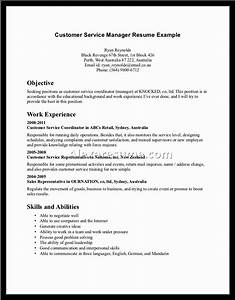 objectives for resume customer service manager job With career objective for customer service