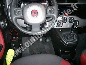Prise Obd2 Dans Les Fiat Panda 3  2012-