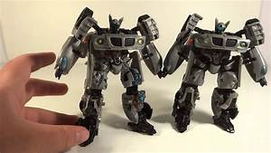 Transformers Movie Battle Damage Jazz Deluxe Toy Review ...  Transformers