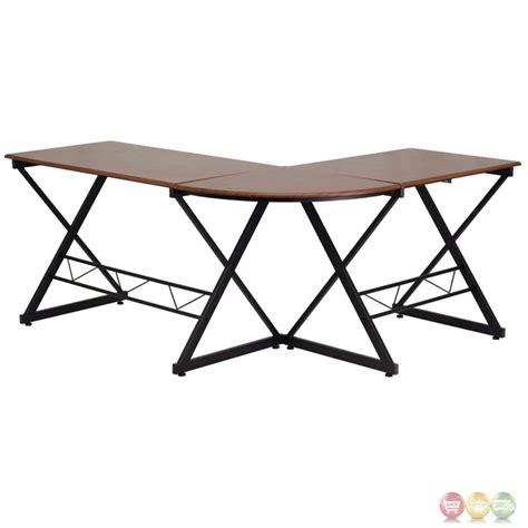 l shaped desk under 200 teakwood laminate l shape computer desk with pull out