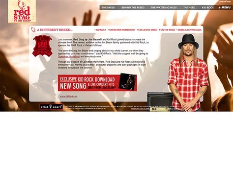 Check out all listings for manager jobs! Red Stag by Jim Beam and Kid Rock partnership - Product site launch, contest management, music ...