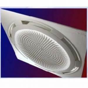 Climatisation Encastrable Plafond : climatiseur split cassette reversible comfort circle ~ Premium-room.com Idées de Décoration