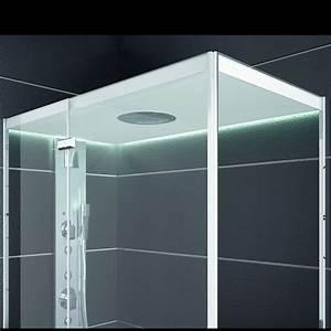 Cabine De Douche En Verre : cabine de douche tout en verre au design contemporain teuco ~ Zukunftsfamilie.com Idées de Décoration