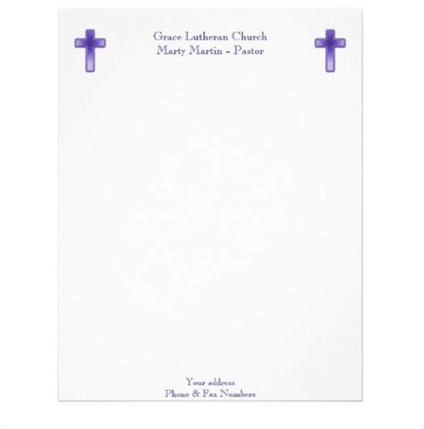 Church letterhead templates for word publisher. 11+ Church Letterhead Templates - Free Word, PSD, AI ...