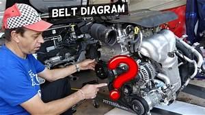 Serpentine Belt Diagram Jeep Cherokee Compass Renegade 2 4