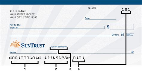 check transit number suntrust banks routing number list usa