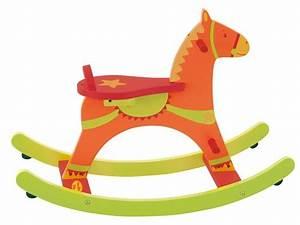 Cheval à Bascule Bebe : moulin roty cheval bascule dragobert ~ Teatrodelosmanantiales.com Idées de Décoration