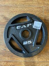 cap olympic weight plates  sale  stock ebay