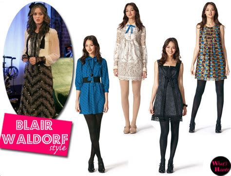 Blair Waldorf Style Nachkaufen by Sui S Target Collection Channels Gossip What S
