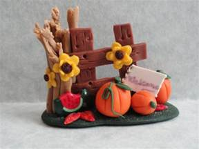 Polymer Clay Thanksgiving Craft