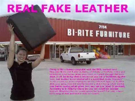 real leather bi rite furniture wmv