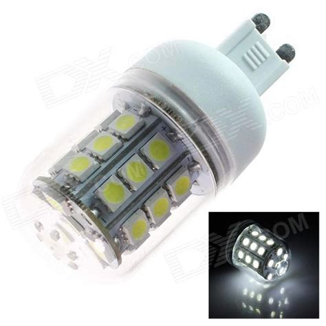 g9 5w 280lm 5500k 31 x smd 5050 led white light l bulb