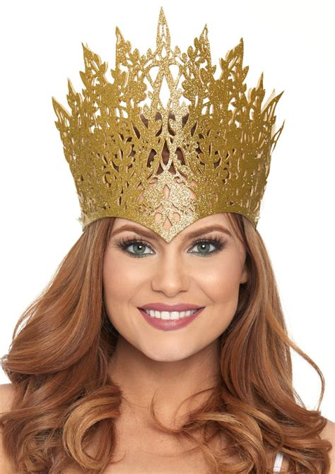 Glitter Crown with Jewel
