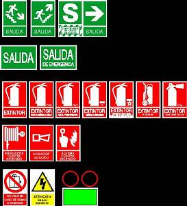 Safety Signs DWG Block for AutoCAD • Designs CAD