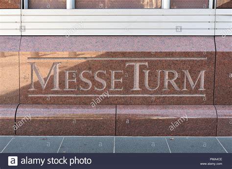 Größten Messen Deutschland by Messeturm Fair Tower Stockfotos Messeturm Fair Tower