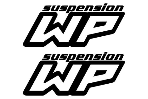 Wp Suspension Logo Stickerschoose The Color Yourselfand