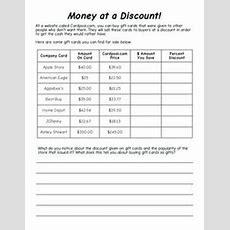 Consumer Math On Pinterest  Math, Financial Literacy And High School…