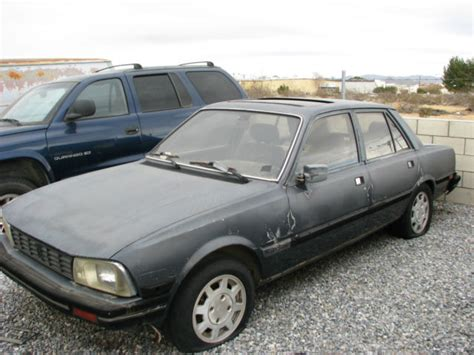 Peugeot 505 For Sale by 1987 Peugeot 505 For Sale